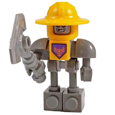 Minifig Knight Axlbot-Brick Forces