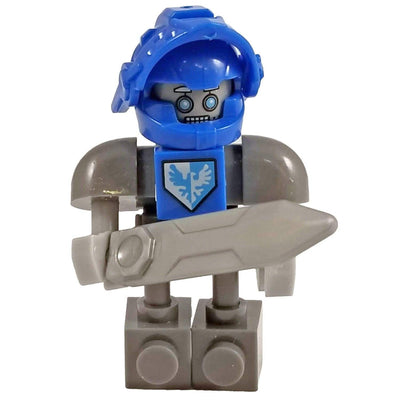 Minifig Knight Claybot-Brick Forces