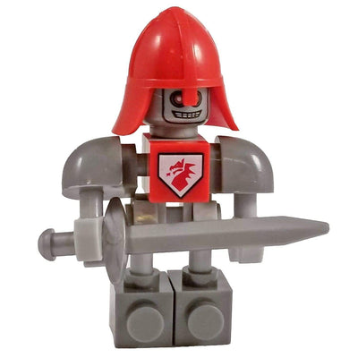 Minifig Knight Macybot-Brick Forces
