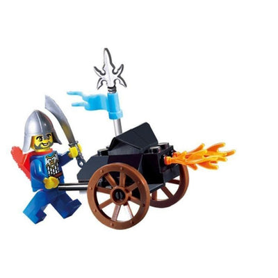 Minifig Knights Burning Cart - Sets