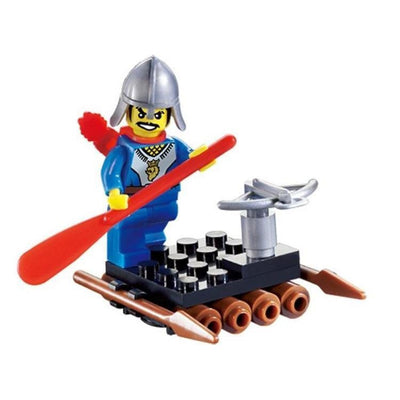 Minifig Knights Raft - Sets