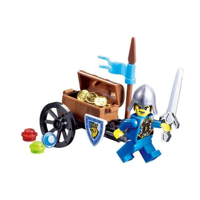 Minifig Knights Treasure Cart - Sets