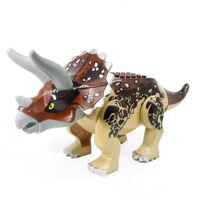 Minifig Large Dinosaur Jurassic World Triceratops - Animals