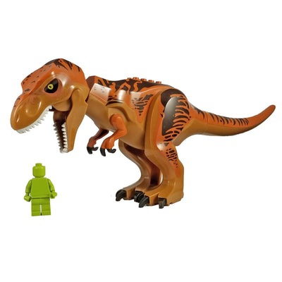 Minifig Large Dinosaur Jurassic World Tyrannosaurus - Animals