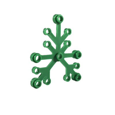 Minifig Large Tree Limbs or Leaves (10 Pieces) - Vegetation