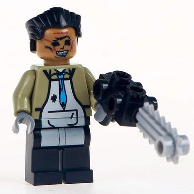 Minifig Leatherface-Brick Forces