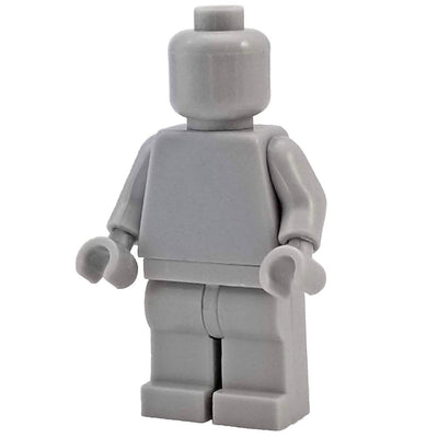 Minifig Light Grey-Brick Forces
