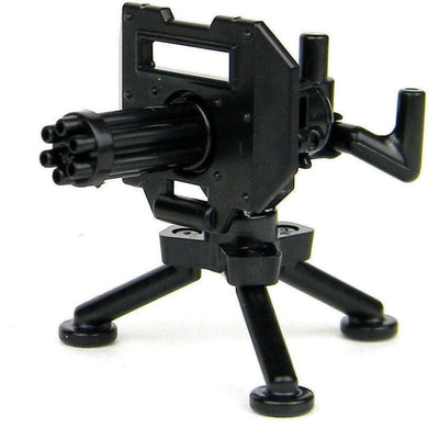 Minifig M134 Minigun and Tripod - Heavy Weapon