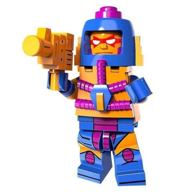 Minifig Man-E-Faces-Brick Forces