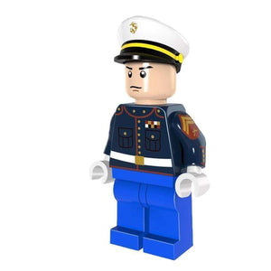Minifig Marine Corporal Dress Blues - Minifigs