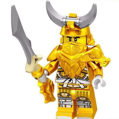 Minifig Master of Golden Dragon - Minifigs