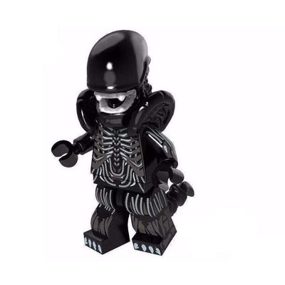 Minifig Mean Alien - Minifigs