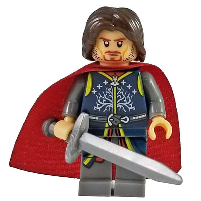 Minifig Medieval King Strider - Minifigs