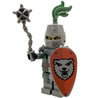 Minifig Medieval Knight Galahad-Brick Forces
