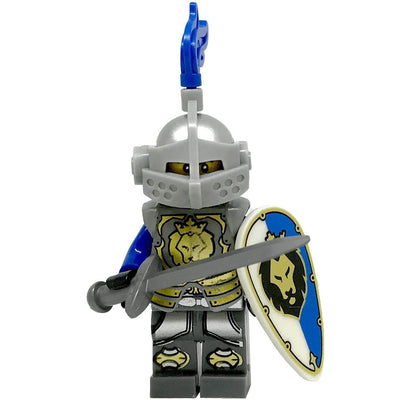 Minifig Medieval Knight Hyde-Brick Forces