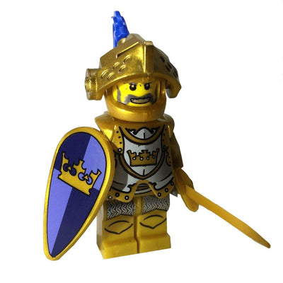 Minifig Medieval Knight Ramsey-Brick Forces