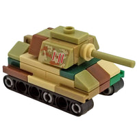 Minifig Micro German Tiger II Tank - Tanks