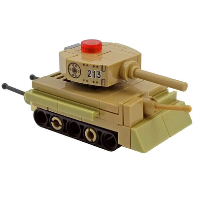 Minifig Micro German Tiger Tank - Tanks
