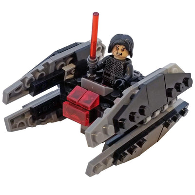 Minifig Microfighter Silencer Fighter - Vehicles