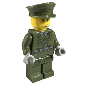 Minifig Military Officer - Minifigs