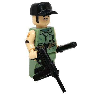 Minifig Military Police (MP) Bailey-Brick Forces