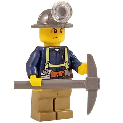 Minifig Miner-Brick Forces