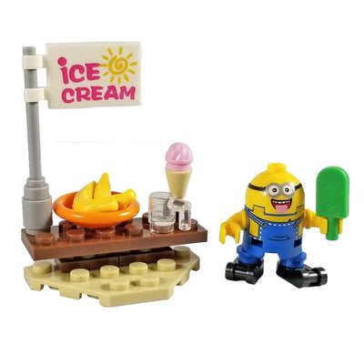 Minifig Minion Ice Cream - Minifigs