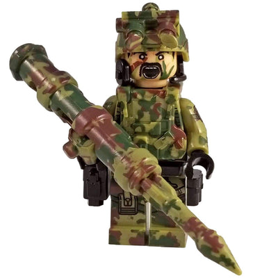 Minifig Modern American Airborne CAMO Squad Ethan - Minifigs