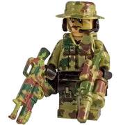 Minifig Modern American Airborne CAMO Squad Wayne - Minifigs