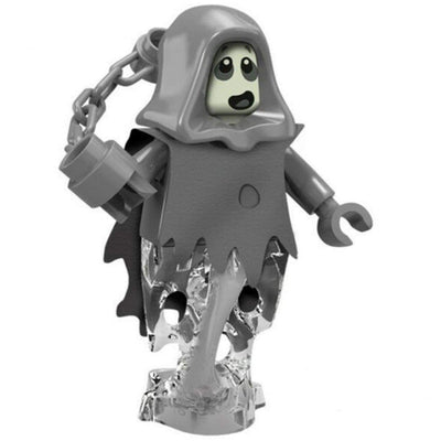 Minifig Monster Ghost with Chain - Minifigs