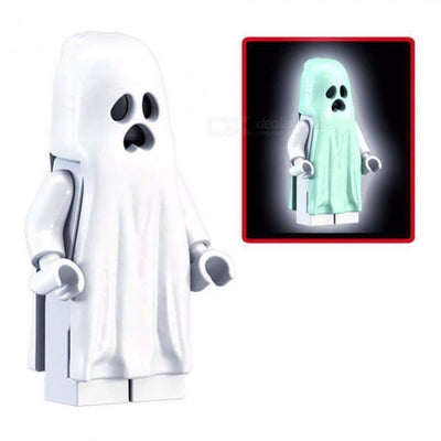 Minifig Monster Glow in the Dark Ghost - Minifigs
