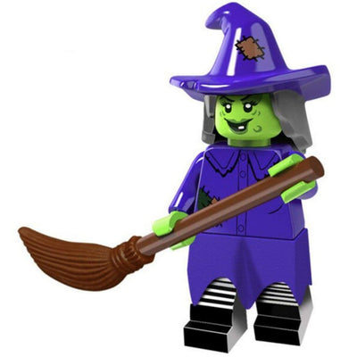 Minifig Monster Purple Witch - Minifigs