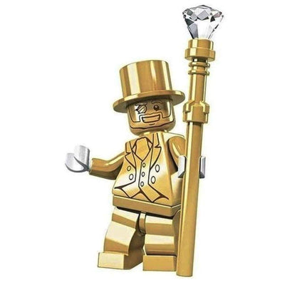 Minifig Mr. Gold-Brick Forces