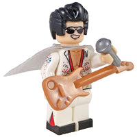 Minifig Musician Elvis The King - Minifigs