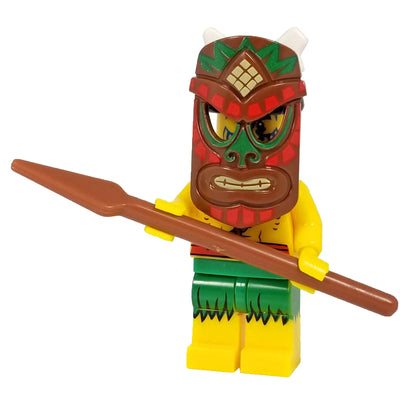 Minifig Native Aborigines-Brick Forces