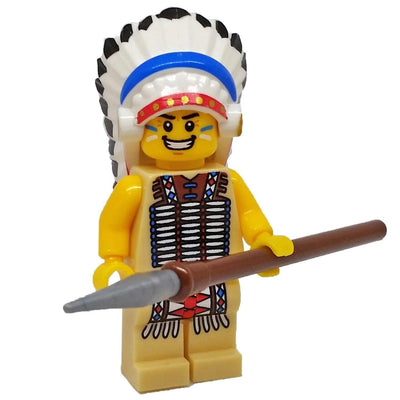 Minifig Native The Chief-Brick Forces