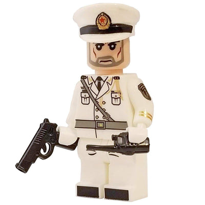 Minifig Naval Officer - Minifigs