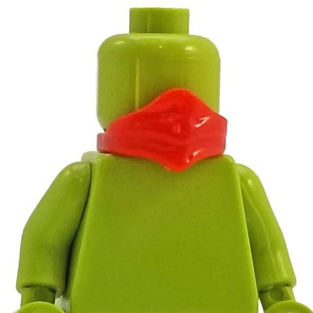 Minifig Neck Scarf Red - Headgear
