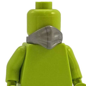 Minifig Neck Scarf Silver - Headgear