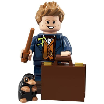 Minifig Newt with Niffler - Minifigs