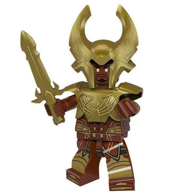 Minifig Norse Mythology Heimdall in Armor - Minifigs