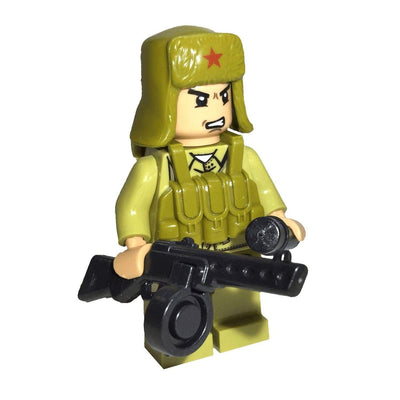 Minifig North Korean Army Chan - Minifigs