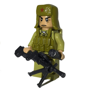 Minifig North Korean Army Kim - Minifigs
