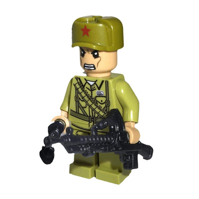 Minifig North Korean Army Kuan - Minifigs