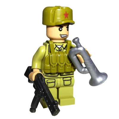 Minifig North Korean Army Lee - Minifigs