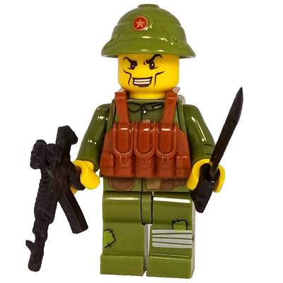 Minifig North Vietnamese Army (NVA) Infantry-Brick Forces