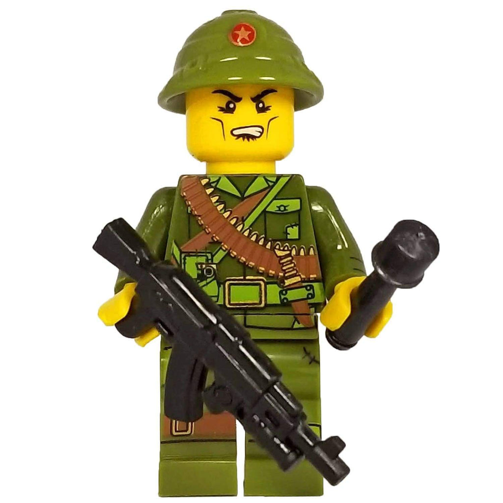 Minifig North Vietnamese Army (NVA) Infantry with AKGL - Minifigs