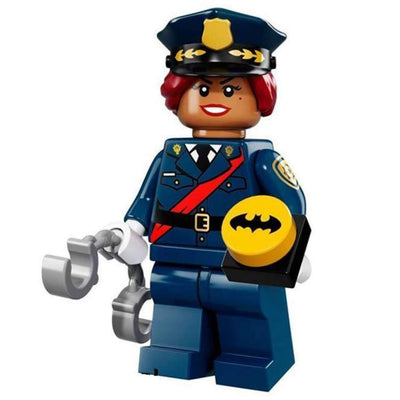 Minifig Officer Barbara - Minifigs