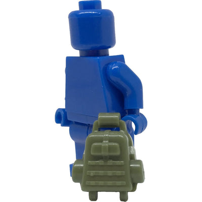 Minifig Olive Drab Backpack - Backpack