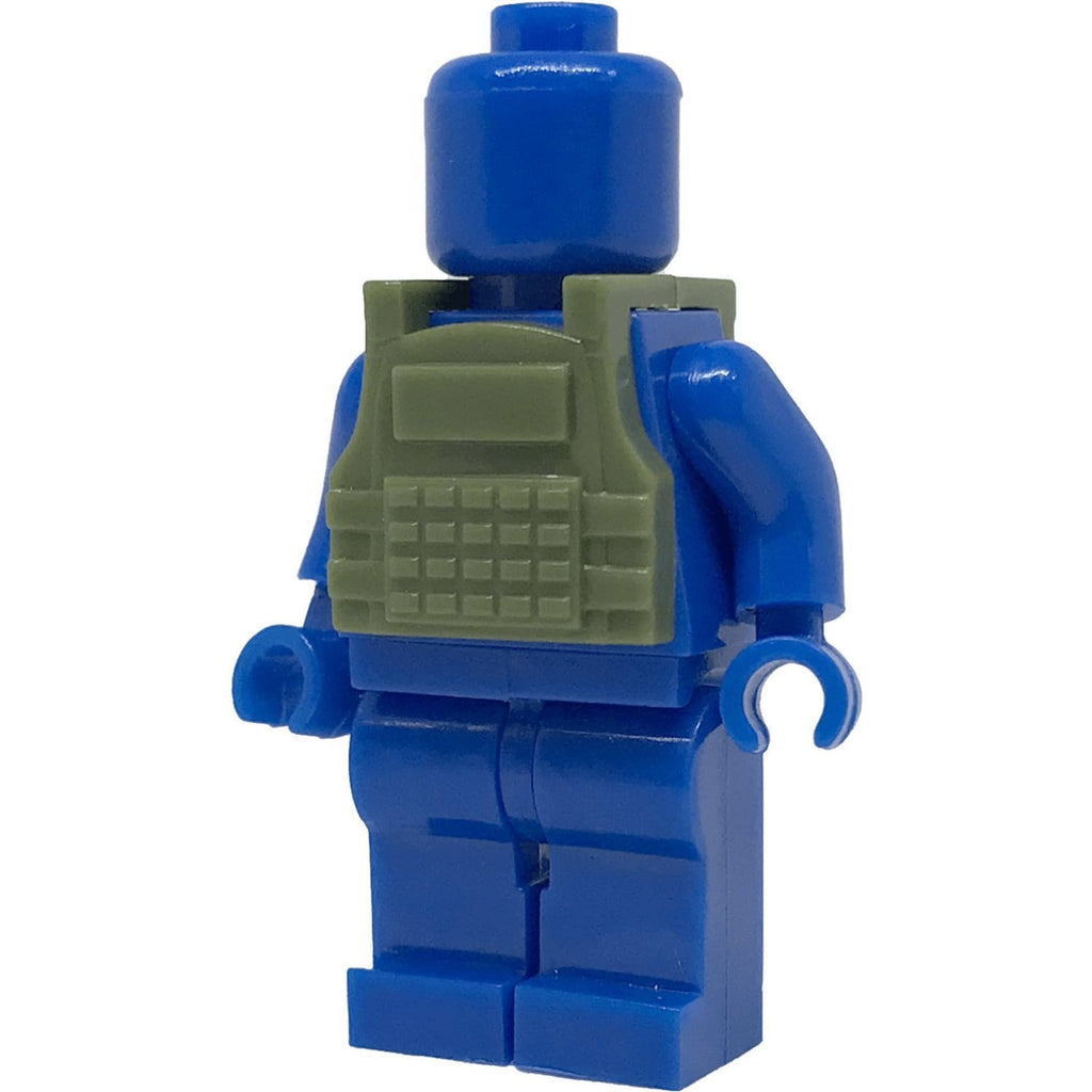 Minifig Olive Drab Tactical Vest 4 - Vests